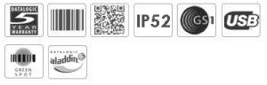 Datalogic Gryphon GD4100 Imager Barcode Scanner