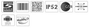 Datalogic Gryphon GD4500 2D Barcode Scanner