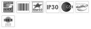Datalogic Heron D130 Handheld Barcode Scanner