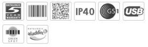 Datalogic Heron HD3100 POS Handheld Barcode Scanner