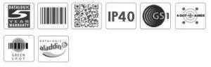 Datalogic Heron HD3430 2D POS Handheld Barcode Scanner