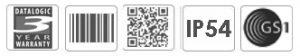 Datalogic Magellan 3200VSi Vertical Barcode Scanner