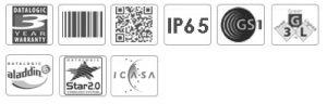 Datalogic PowerScan Mobile PM8300 1D Industrial Mobile Scanner