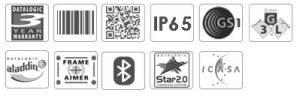 Datalogic PowerScan PD9500 2D DPM Barcode Scanner