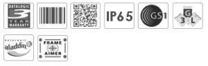 Datalogic PowerScan PD9500 2D Handheld Barcode Scanner