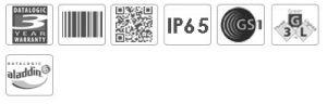 Datalogic Powerscan PD8330 1D Industrial Barcode Scanner