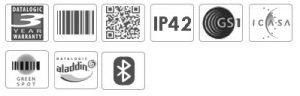 Datalogic Quickscan QBT2131 Mobile Scanner