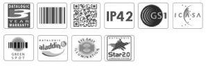 Datalogic Quickscan QM2400 2D Barcode Scanner