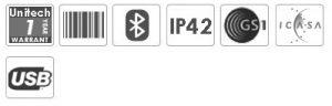Unitech MS916 1D Bluetooth Pocket Barcode Scanner